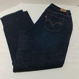 Levi's 518 bootcut jeans plus size 18 M